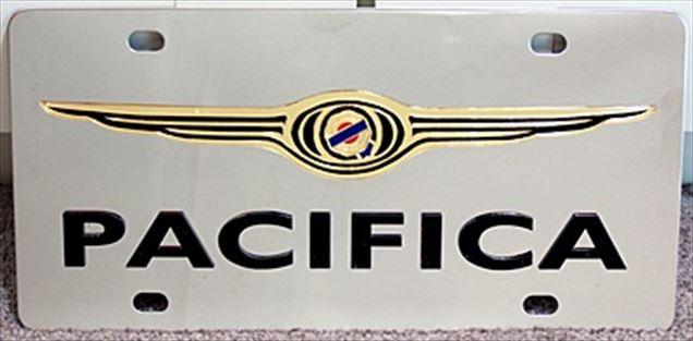 Chrysler Pacifica vanity license plate