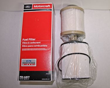 Motorcraft FD-4617 fuel filter kit 6.4 Power Stroke Diesel F-Series