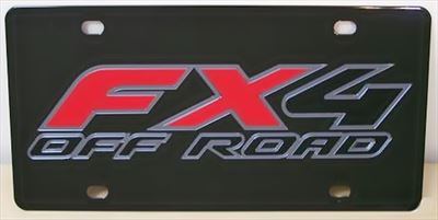 Ford FX4 Off Road C/S plate