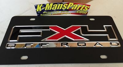 Ford FX4 Off Road 2010 C/S plate
