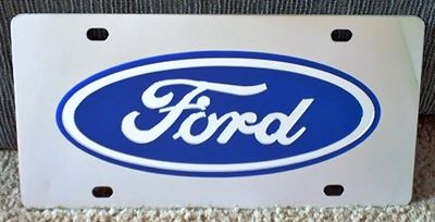 Ford Oval vanity license plate car tag