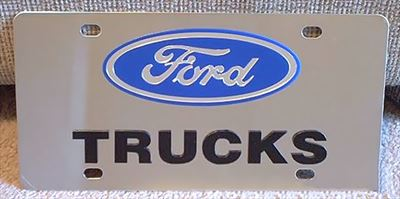 Ford Trucks vanity license plate tags
