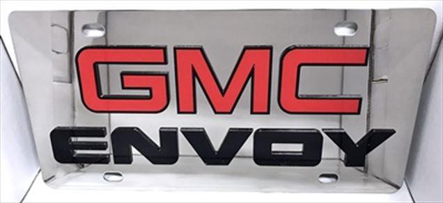 GMC Envoy vanity license plate tag