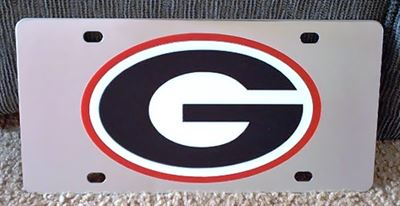 Georgia Bulldogs UGA vanity license plate car tag