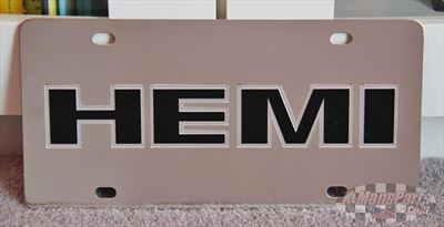 MOPAR Hemi Dodge Jeep Chrysler vanity license plate car tag