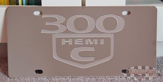 Chrysler 300 C Hemi license plate car tag