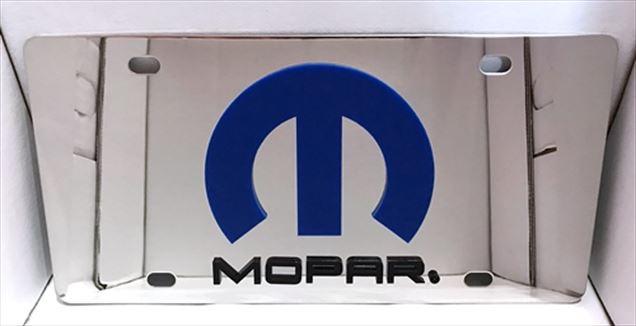 MOPAR emblem vanity license plate car tag