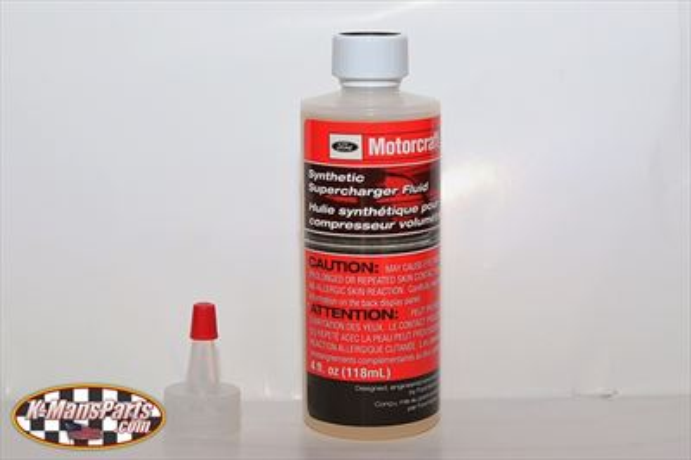 Motorcraft supercharger oil XL4 4 oz. bottle