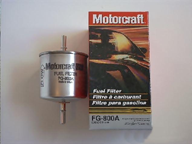 Motorcraft FG1060 fuel filter replaces FG800A
