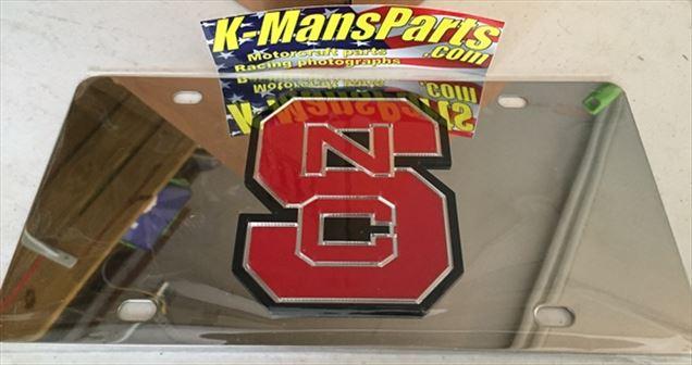 North Carolina State Wolfpack NCSU vanity license plate car tag