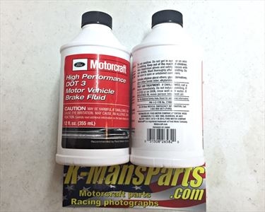 Motorcraft PM1C High Performance DOT 3 Motor Vehicle Brake Fluid