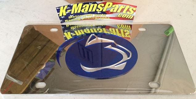 Penn State Nittany Lions PSU vanity license plate car tag