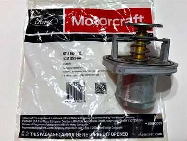 Ford Motorcraft thermostat 6.0 Power Stroke turbo diesel RT1169