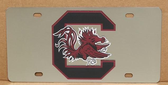 South Carolina Gamecocks vanity license plate car tag