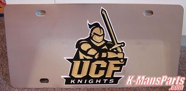 Central Florida Knights UCF vanity license plate car tag
