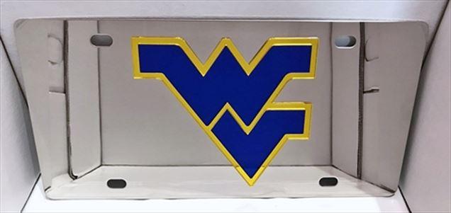 West Virginia Mountaineers vanity license plate car tag