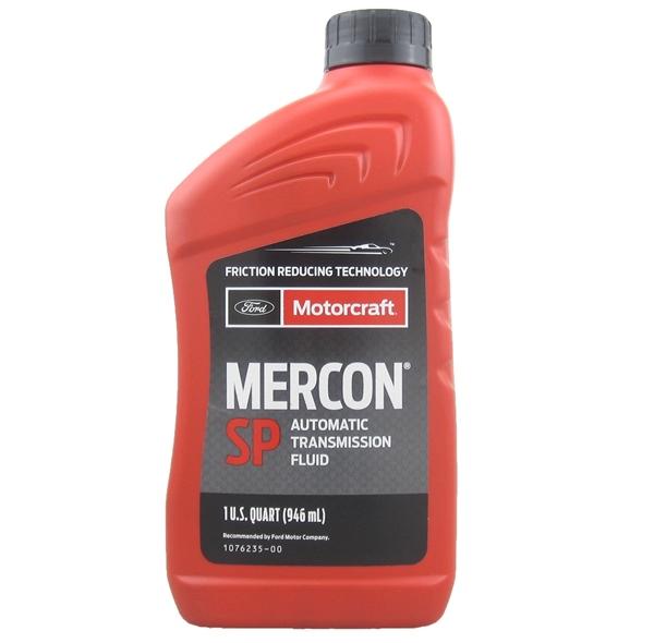 Motorcraft Mercon SP TorqShift transmission fluid XT6QSP quart